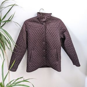 Northern Reflections Brown Quilted Jacket